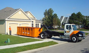 U-LOAD-IT dumpster rental of Lee's Summit