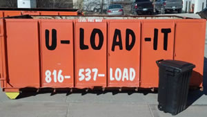 Dumpster Prices for Lee's Summit MO from U-LOAD-IT Dumpsters