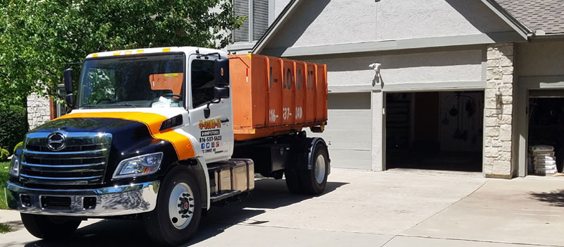 Dumpsters for rent near Lee's Summit, Kansas City, MO and surrounding cities